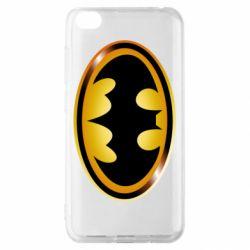 Чохол для Xiaomi Redmi Go Batman logo Gold