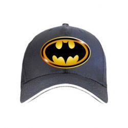 кепка Batman logo Gold - FatLine