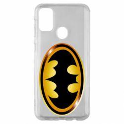 Чохол для Samsung M30s Batman logo Gold