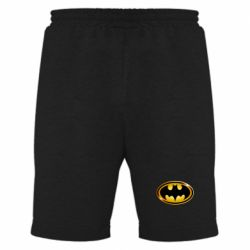 Мужские шорты Batman logo Gold - FatLine