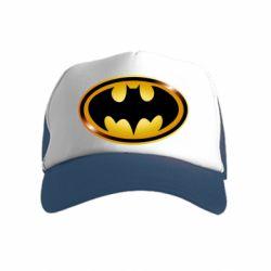 Дитяча кепка-тракер Batman logo Gold