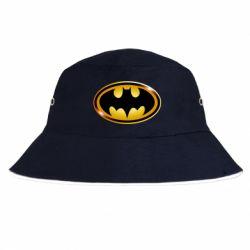 Панама Batman logo Gold