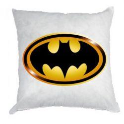 Подушка Batman logo Gold - FatLine