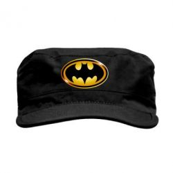 Кепка милитари Batman logo Gold - FatLine