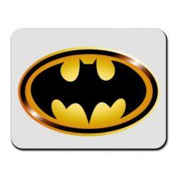 Коврик для мыши Batman logo Gold - FatLine