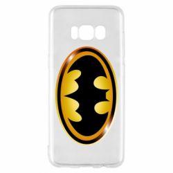 Чохол для Samsung S8 Batman logo Gold