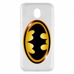Чохол для Samsung J5 2017 Batman logo Gold