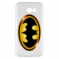 Чохол для Samsung A7 2017 Batman logo Gold