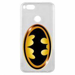Чохол для Xiaomi Mi A1 Batman logo Gold