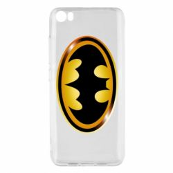 Чохол для Xiaomi Mi5/Mi5 Pro Batman logo Gold