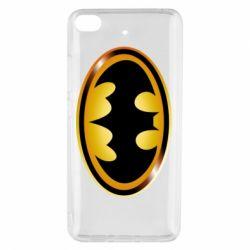 Чохол для Xiaomi Mi 5s Batman logo Gold
