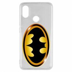 Чохол для Xiaomi Mi8 Batman logo Gold