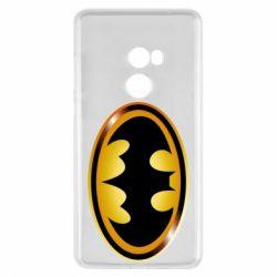 Чохол для Xiaomi Mi Mix 2 Batman logo Gold