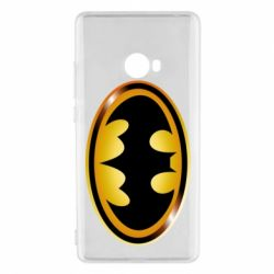 Чохол для Xiaomi Mi Note 2 Batman logo Gold