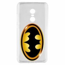Чохол для Xiaomi Redmi Note 4 Batman logo Gold