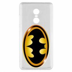 Чохол для Xiaomi Redmi Note 4x Batman logo Gold