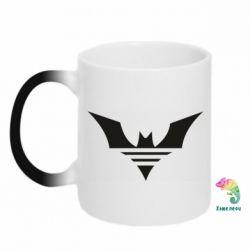 Кружка-хамелеон Batman three line