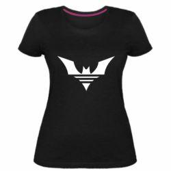 Жіноча стрейчева футболка Batman three line