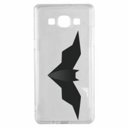 Чехол для Samsung A5 2015 Batman unusual logo