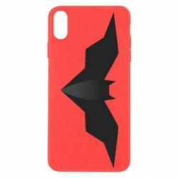 Чехол для iPhone Xs Max Batman unusual logo