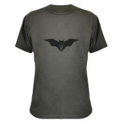 Камуфляжная футболка Batman unusual logo