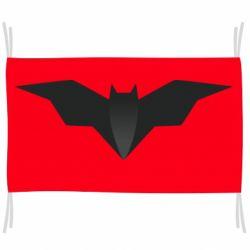 Флаг Batman unusual logo