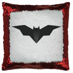 Подушка-хамелеон Batman unusual logo