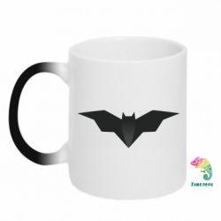 Кружка-хамелеон Batman unusual logo