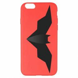Чехол для iPhone 6 Plus/6S Plus Batman unusual logo