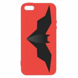 Чехол для iPhone5/5S/SE Batman unusual logo