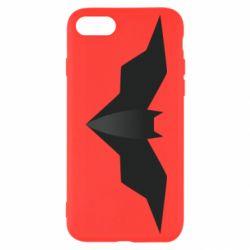 Чехол для iPhone 8 Batman unusual logo