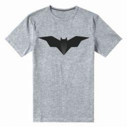 Мужская стрейчевая футболка Batman unusual logo
