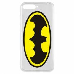 Чехол для Huawei Y6 2018 Batman - FatLine