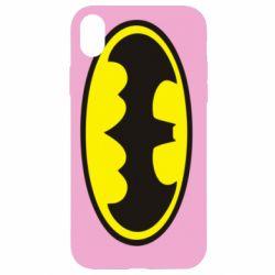 Чехол для iPhone XR Batman