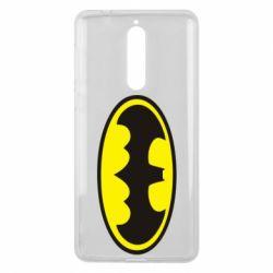 Чехол для Nokia 8 Batman - FatLine
