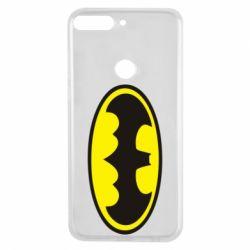 Чехол для Huawei Y7 Prime 2018 Batman - FatLine