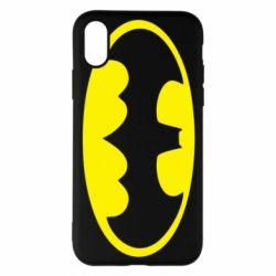 Чехол для iPhone X/Xs Batman