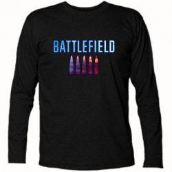 Футболка з довгим рукавом Battlefield 5 bullets