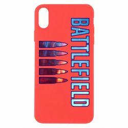 Чохол для iPhone Xs Max Battlefield 5 bullets