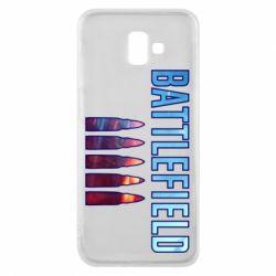 Чохол для Samsung J6 Plus 2018 Battlefield 5 bullets
