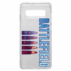 Чохол для Samsung S10+ Battlefield 5 bullets