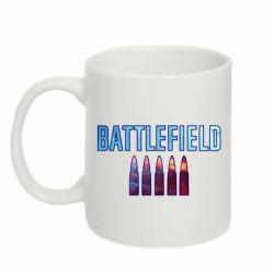 Кружка 320ml Battlefield 5 bullets