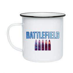 Кружка емальована Battlefield 5 bullets