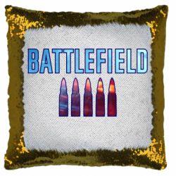 Подушка-хамелеон Battlefield 5 bullets