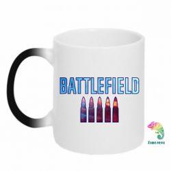 Кружка-хамелеон Battlefield 5 bullets
