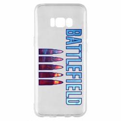 Чохол для Samsung S8+ Battlefield 5 bullets