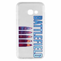 Чохол для Samsung A3 2017 Battlefield 5 bullets