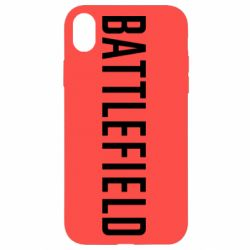 Чохол для iPhone XR Battlefield logo