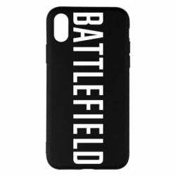 Чохол для iPhone X/Xs Battlefield logo