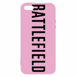Чохол для iphone 5/5S/SE Battlefield logo